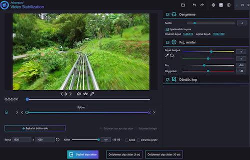 Ashampoo Video Stabilization Ekran Görüntüleri - 1