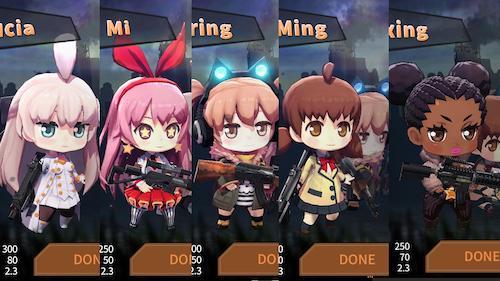 Gun&Girls.io Ekran Görüntüleri - 4