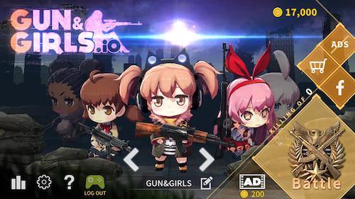 Gun&Girls.io Ekran Görüntüleri - 5