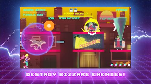 Top Run: Retro Pixel Adventure Ekran Görüntüleri - 1