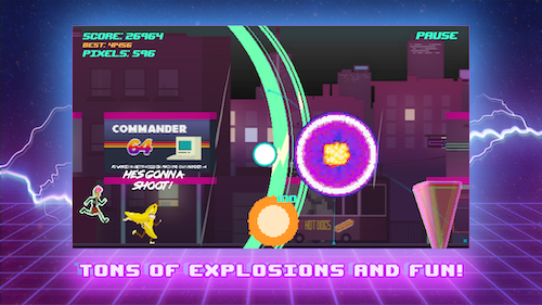 Top Run: Retro Pixel Adventure Ekran Görüntüleri - 3
