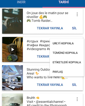 Video Downloader for Instagram Ekran Görüntüleri - 4