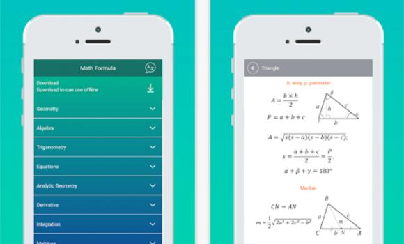 HiEdu Math Formulas Ekran Görüntüleri - 1