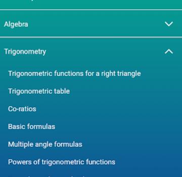 HiEdu Math Formulas Ekran Görüntüleri - 3