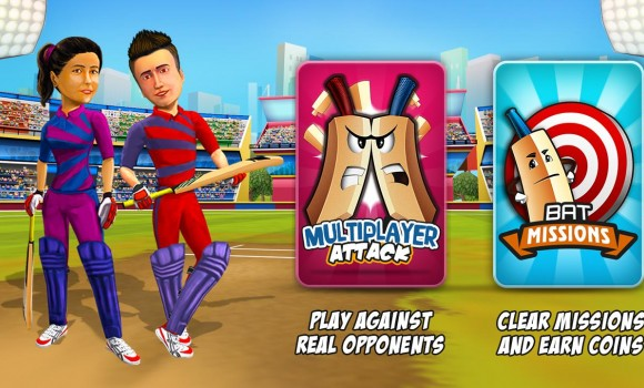 Bat Attack Cricket Multiplayer Ekran Görüntüleri - 3