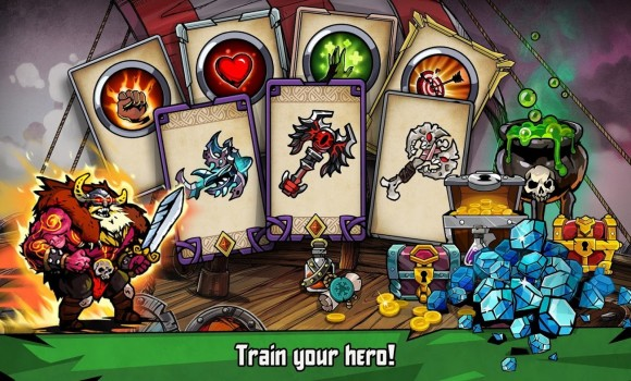 Bravium-Hero Defense RPG Ekran Görüntüleri - 2