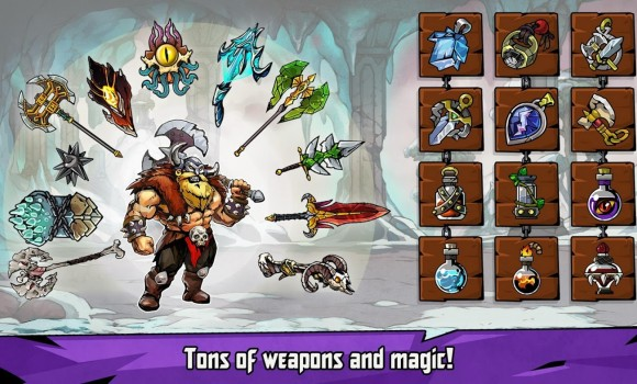 Bravium-Hero Defense RPG Ekran Görüntüleri - 3