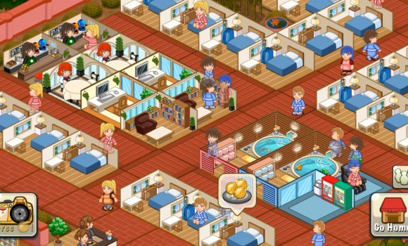 Hotel Story: Resort Simulation Ekran Görüntüleri - 1