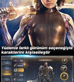 Alita: Battle Angel - The Game Ekran Görüntüleri - 2
