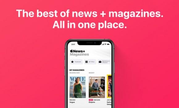 Apple News Ekran Görüntüleri - 1