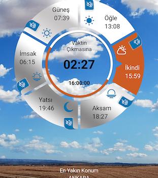 Namaz Vaktim Ekran Görüntüleri - 4
