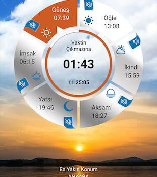 Namaz Vaktim Ekran Görüntüleri - 5