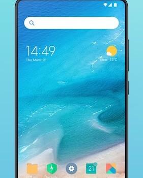 Xiaomi Mint Launcher Ekran Görüntüleri - 1