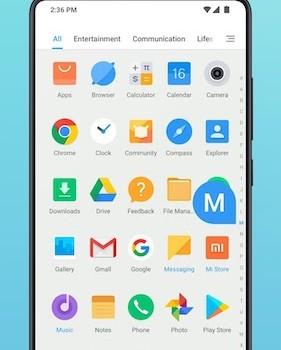 Xiaomi Mint Launcher Ekran Görüntüleri - 6