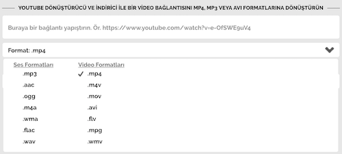 OnlineVideoConverter Ekran Görüntüleri - 2
