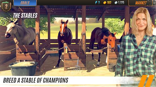 Rival Stars Horse Racing Ekran Görüntüleri - 1