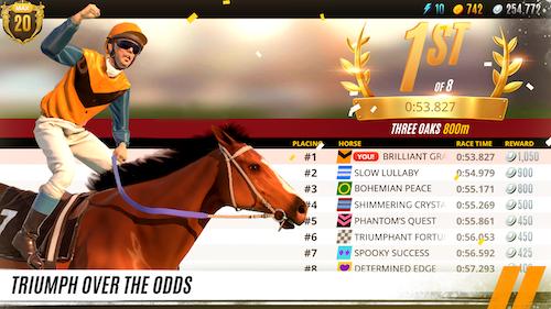 Rival Stars Horse Racing Ekran Görüntüleri - 4