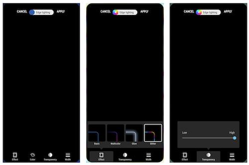 Samsung EdgeLighting+ Ekran Görüntüleri - 1