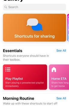 Shortcuts Ekran Görüntüleri - 3