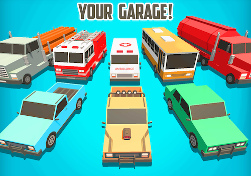 Smashy Road Rage Ekran Görüntüleri - 3