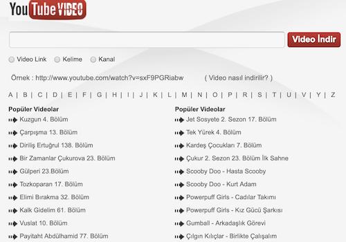 YouTube Video İndir Ekran Görüntüleri - 1