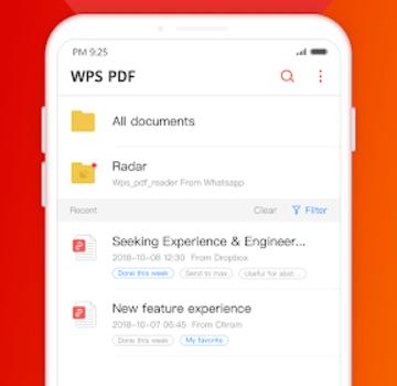 WPS PDF Ekran Görüntüleri - 1