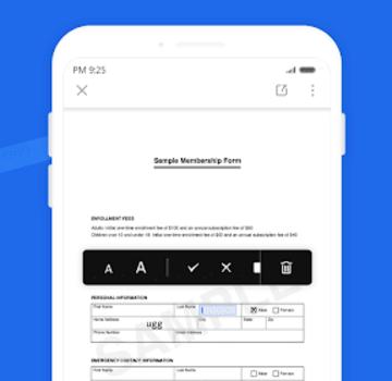 WPS Fill & Sign Ekran Görüntüleri - 2