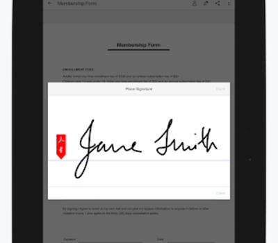 Adobe Fill & Sign Ekran Görüntüleri - 8