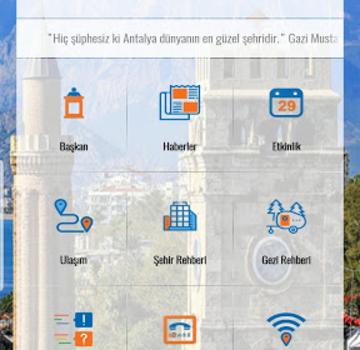 Antalya Akıllı Şehir Ekran Görüntüleri - 1
