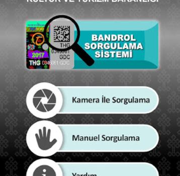 Bandrol Sorgulama Ekran Görüntüleri - 1