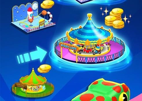 Click Park: Idle Building Roller Coaster Game Ekran Görüntüleri - 1