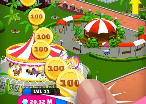 Click Park: Idle Building Roller Coaster Game Ekran Görüntüleri - 2