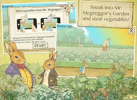 Peter Rabbit's Garden Ekran Görüntüleri - 2