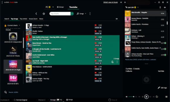 Audials Music Tube Ekran Görüntüleri - 5