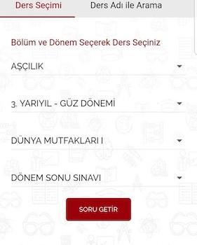 Anadolu AÖS Çıkmış Sorular Ekran Görüntüleri - 2
