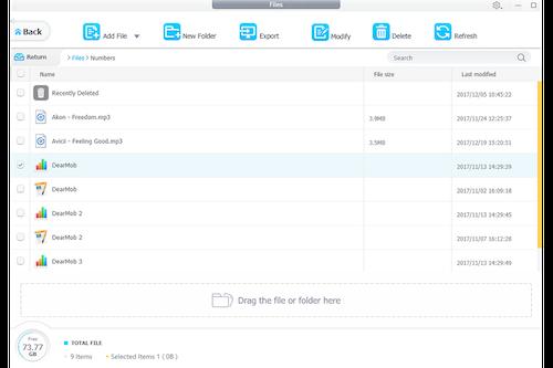 DearMob iPhone Manager Ekran Görüntüleri - 5