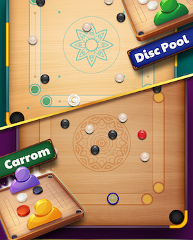 Disc Pool Carrom Ekran Görüntüleri - 2