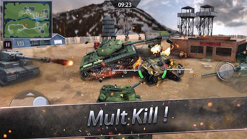 Furious Tank : War of Worlds Ekran Görüntüleri - 3
