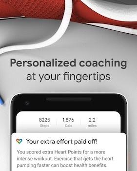 Google Fit Ekran Görüntüleri - 3