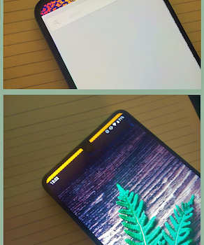 Status Bar & Notch Custom Colors and Backgrounds Ekran Görüntüleri - 7