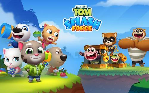 Talking Tom Splash Force Ekran Görüntüleri - 6