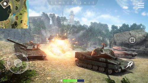Tank Battlegrounds Ekran Görüntüleri - 3