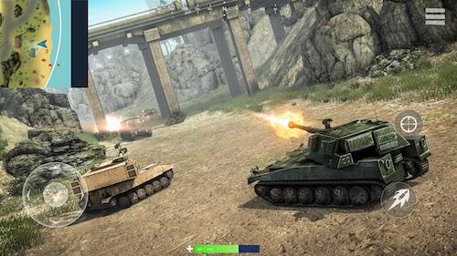 Tank Battlegrounds Ekran Görüntüleri - 4