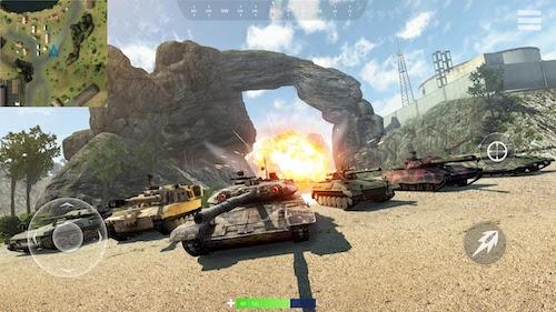 Tank Battlegrounds Ekran Görüntüleri - 5