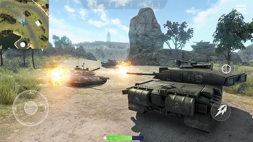 Tank Battlegrounds Ekran Görüntüleri - 7