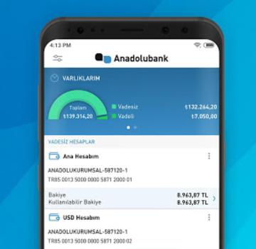 Anadolubank Mobil Ekran Görüntüleri - 2