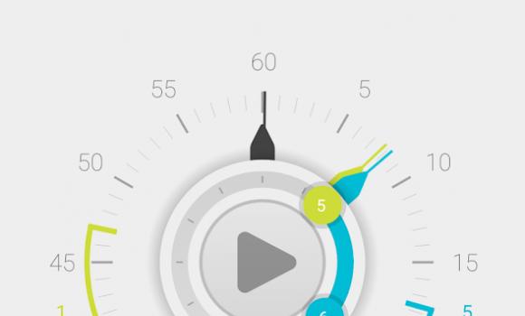 Stopwatch Timer 4 - 4