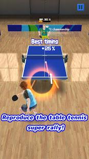 Super Rally Table Tennis Ekran Görüntüleri - 3