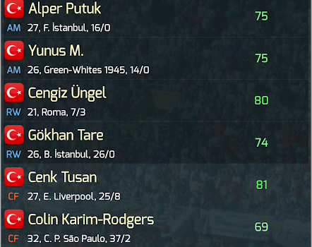 True Football National Manager Ekran Görüntüleri - 3