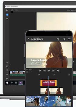 Adobe Premiere Rush Ekran Görüntüleri - 1